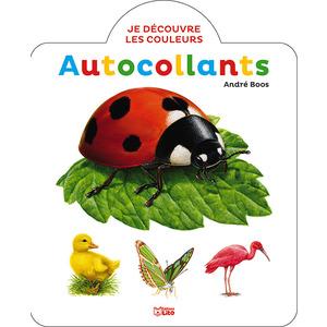 Je découvre les couleurs en autocollants – La Coccinelle 695519