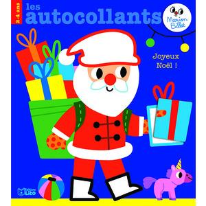 Les autocollants de Marion Billet joyeux Noël éditions Lito 695522
