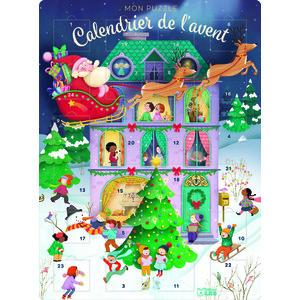 Calendrier de l'Avent puzzle aux Éditions Lito 695540