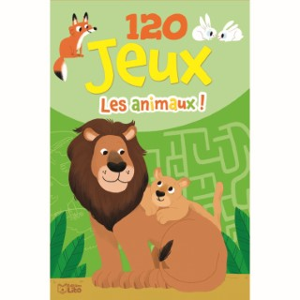Bloc d'activités - 120 jeux – Les animaux 695541