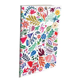 Cahier dorure en papier recyclé 15 x 21 cm 695835