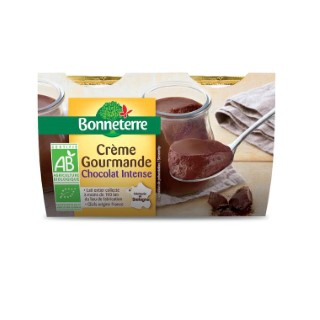 Crème gourmande au chocolat 2 x 120 g 695881