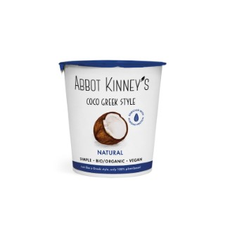 Abbot Kinney's coco greek style naturel en pot de 350 ml 695883