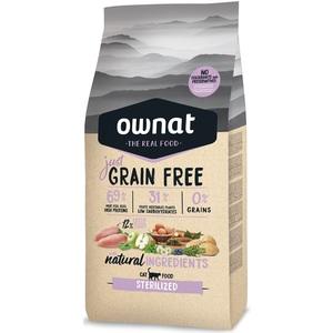 Croquettes pour chat stérilisé Grain Free Just Sterilized 8 kg 695978