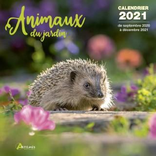 Calendrier animaux du jardin 2021 éditions Artemis 696458