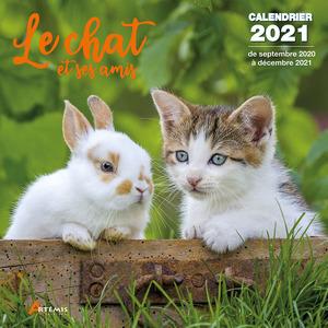Calendrier le chat et ses amis 2021 éditions Artemis 696470
