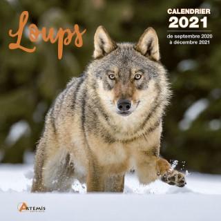 Calendrier loups 2021 éditions Artemis 696471