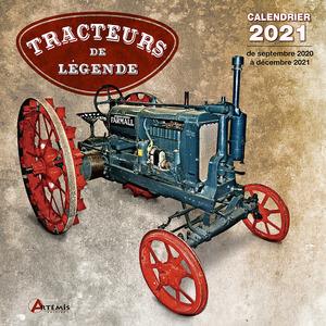 Calendrier tracteurs de légende 2021 éditions Artemis 696477