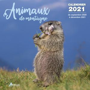 Calendrier animaux de montagne 2021 éditions Artemis 696497