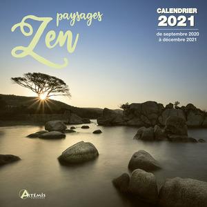 Calendrier paysages zen 2021 éditions Artemis 696500