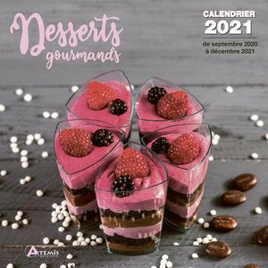Calendrier desserts gourmands 2021 éditions Artemis 696505