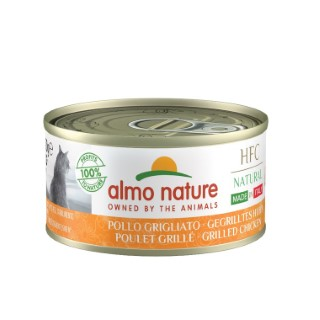 HFC Made in Italy Poulet Grillé pour chat 70 g 696633