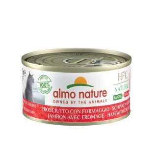 HFC Made in Italy Jambon avec Parmigiano pour chat 70 g 696634