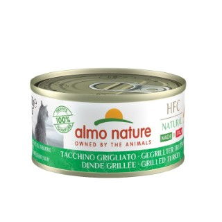 HFC Made in Italy Dinde Grillée pour chat 70 g 696636