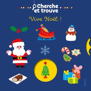 Cherche et trouve vive Noël des éditions Fleurus 696694