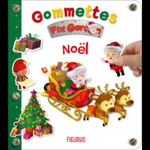 Gommettes p'tit garçon Noël des éditions Fleurus 696696