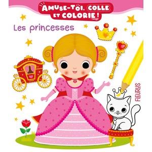 Amuse-toi, colle et colorie les princesses des éditions Fleurus 696699