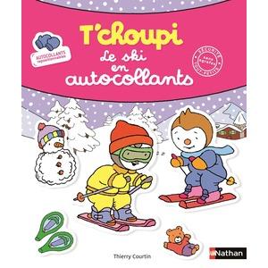 T'choupi le ski en autocollants éditions Éveil petite enfance 696754