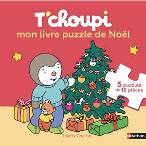 T'choupi mon livre puzzle de Noël éditions Éveil petite enfance 696755