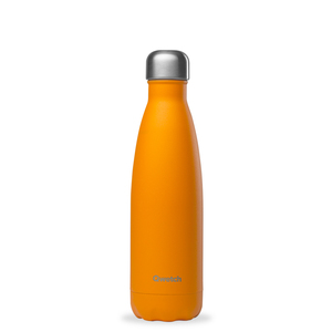 Bouteille isotherme Qwetch en inox Pop orange 500 ml 697146