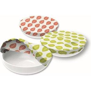 Lot de 3 couvre-bols assortis en coton 697159