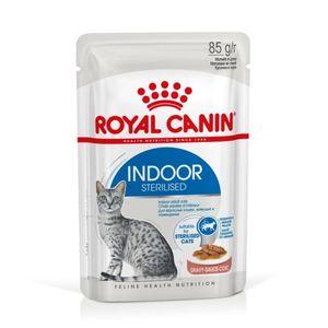 Pâtée en sauce pour chat Indoor Sterilised x 12 697264