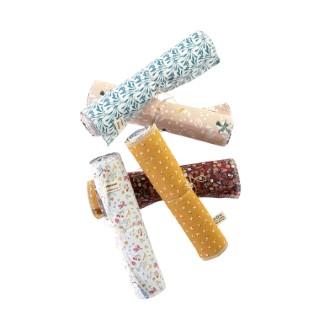 Lot de 5 essuie-tout lavables et réutilisables en coton doublé d'un tissu imprimé 23 x 23 cm 697295