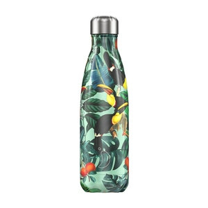 Bouteille isotherme tropical toucan vert 500 ml 697343