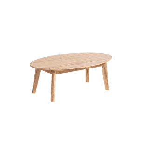 Table basse Sinaris beige naturel 110 x 60 x 35 cm 697536