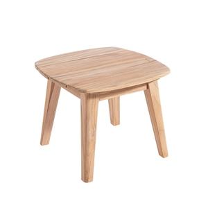 Table basse Hysope en teck naturel 45 x 45 x 36 cm 697539