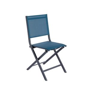 Chaise Max bleue 45 x 52 x 90 cm 697551