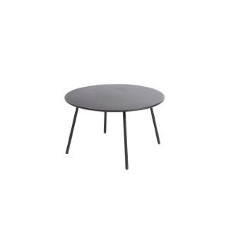 Table basse Cardo coloris gris Ø 70 x 40 cm 697558