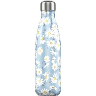 Bouteille isotherme floral daisy bleue 750 ml 699067