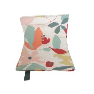Torchon Cleo en coton à motif floral multicolore 70x50 cm 699123