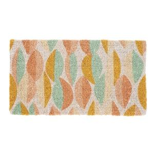 Paillasson Calisson en fibre de coco multicolore 72x40 cm 699358