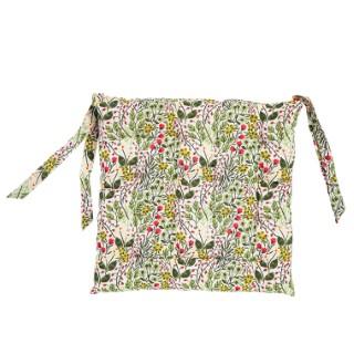 Galette de chaise couleur de printemps 40x40 cm 699610