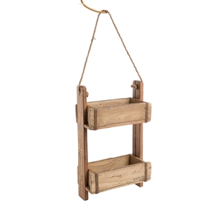 Étagère Rygge en bois recyclé et métal 14x30x51 cm 699639