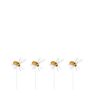 Pique abeille x4 jaune 2x4 cm 699721