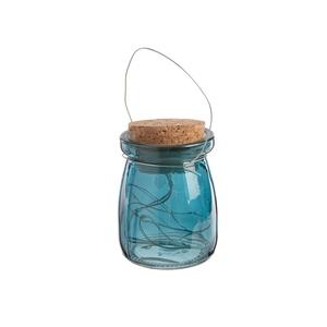 Petite jarre décorative avec 4 leds à piles 699784