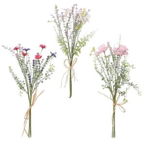 Bouquet de fleurs séchées artificielles H 40 x Ø 10 cm 699794