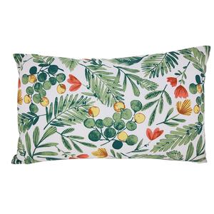 Coussin Olivier en coton à motifs verts 30 x 50 cm 699845