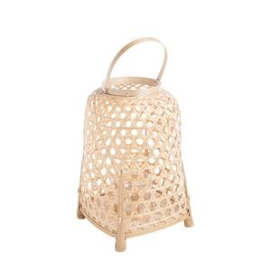 Lanterne cloche en bambou Ø27xH40 cm 699900