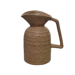 Pichet brun en céramique petit modèle 13x9,5x15,7 cm 699906