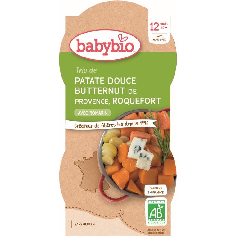 Bol patate douce butternut roquefort - 2x200 gr 601197