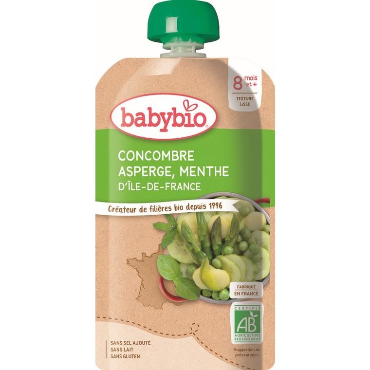Menu du jour gourde concombre asperge menthe - 180 gr 601198