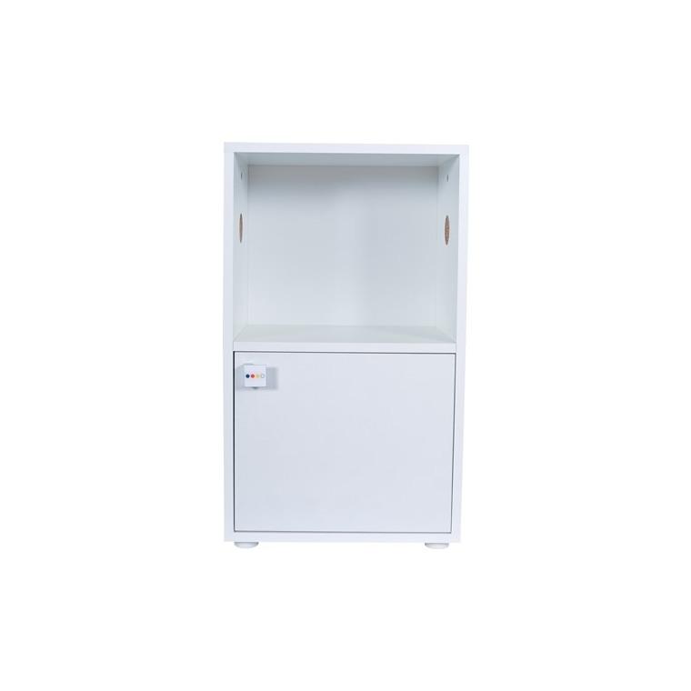 Meuble pour cage à rongeurs Rody 3 blanc 45 x 28 x 77 cm 606085