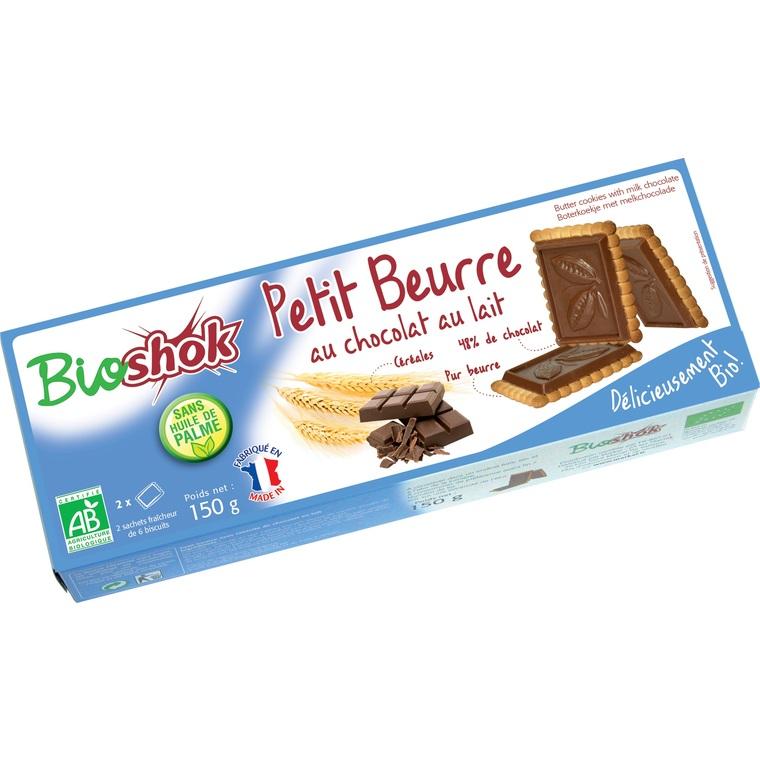 Petit beurre au chocolat au lait - 150 gr 60674