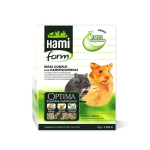 Repas complet hamsters Hamiform 1kg