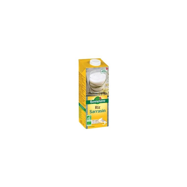 Boisson riz sarrasin bio en brique de 1 L 611572