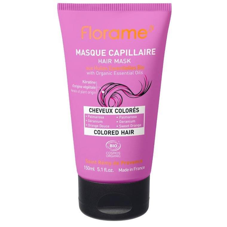 Masque Cheveux colorés tube 150 ml rose 611642